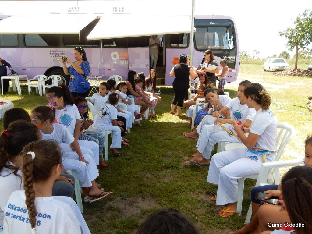 No Dia Internacional da Mulher teve programação especial no Núcleo Rural Alagado da Suzana no Gama